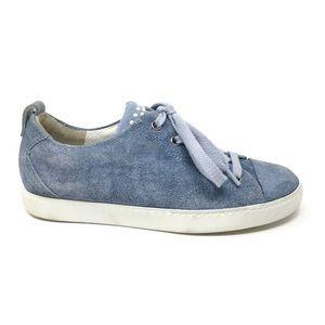 Paul Green Pearl Sneaker Womens Size 5.5 Denim